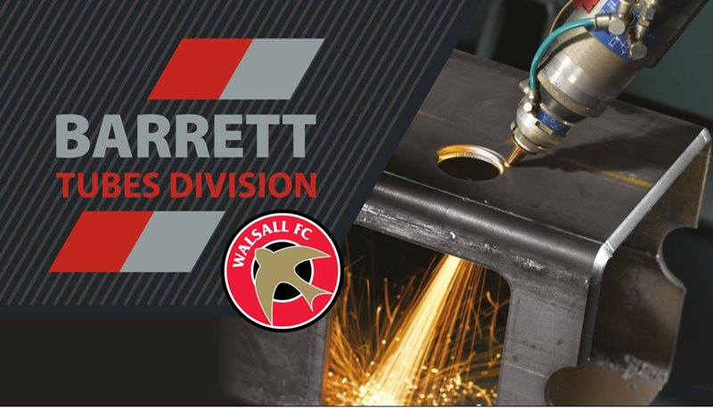 Barrett Steel Tubes partner with Walsall FC