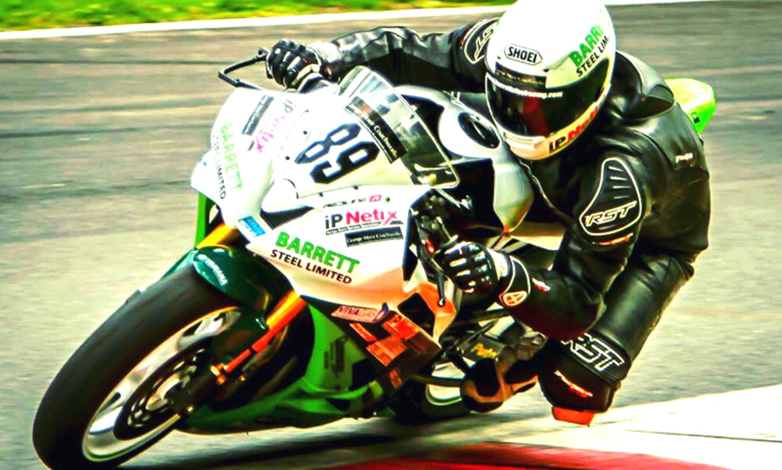 Barrett Steel announce sponsorship of it's own budding sport bike racer