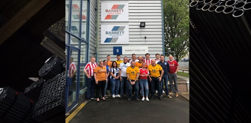 Bobby Moore Fund for Bowel Cancer supported by Barrett Steel Divisions