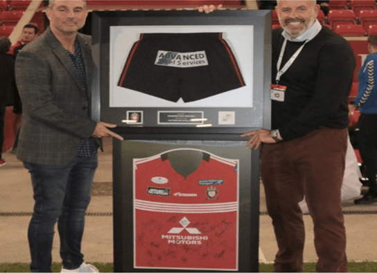 Advanced Steel support Salford Red Devils for 2019