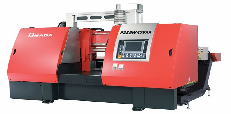 State of the art AMADA PCSAW 430AX is the latest investment for Barrett Engineering Steel