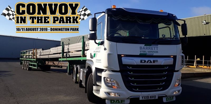 Barrett Steel Truck to star in Convoy in the Park