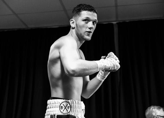 Barrett Steel backs local boxer to put Montrose on the map